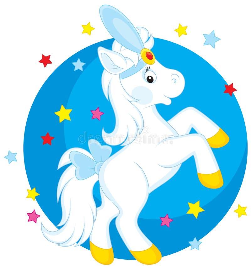 Лошадь цирка бесплатная иллюстрация