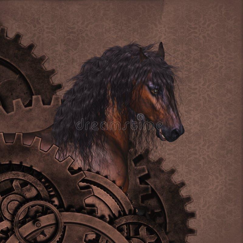 Лошадь Steampunk бесплатная иллюстрация