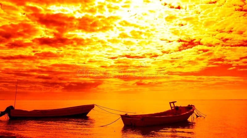 Лодки стоковое фото