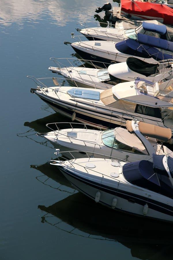 Лодки стоковое изображение