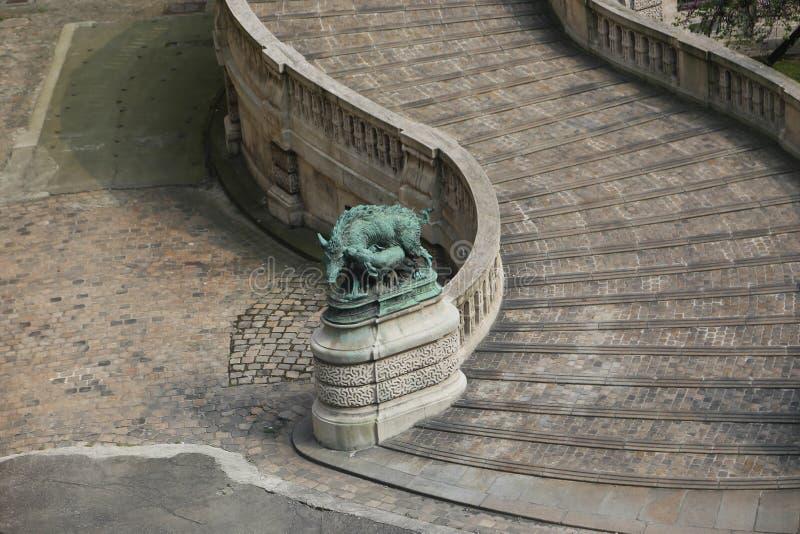 Лувр - Париж стоковые изображения rf