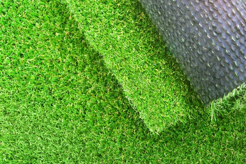 Лужайка дерновины кладя предпосылку стоковое изображение rf