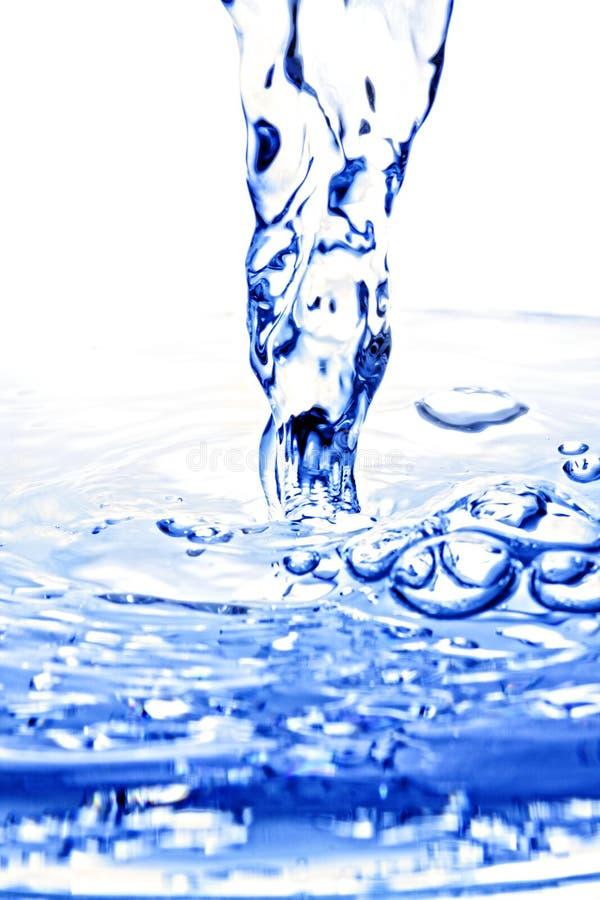 лужица squirting к воде стоковые изображения rf