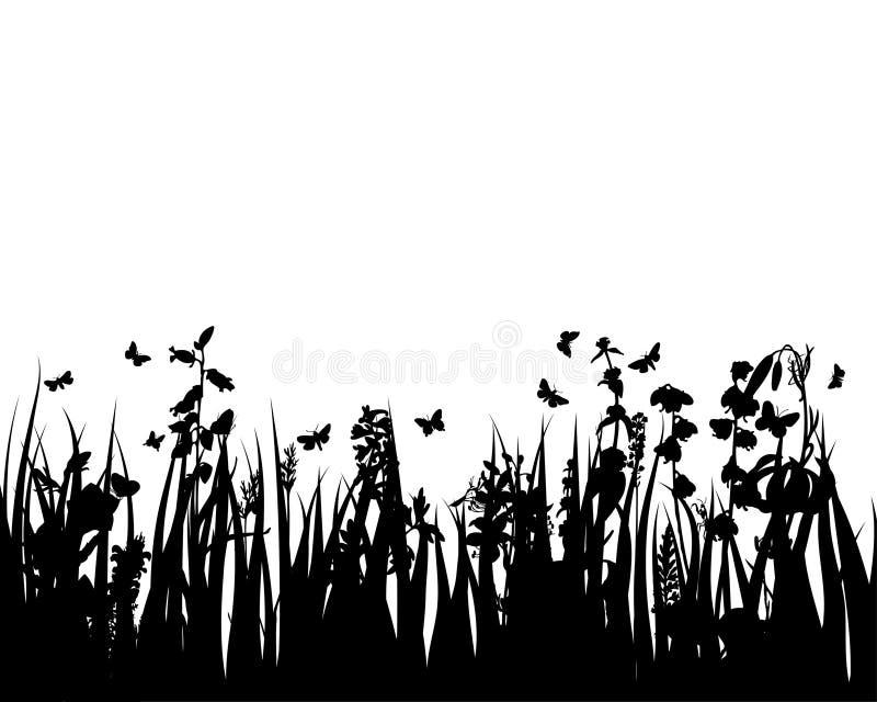 лужок травы бесплатная иллюстрация