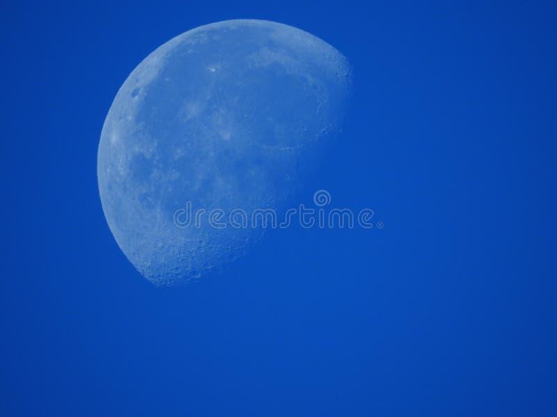 Луна дневного времени стоковая фотография