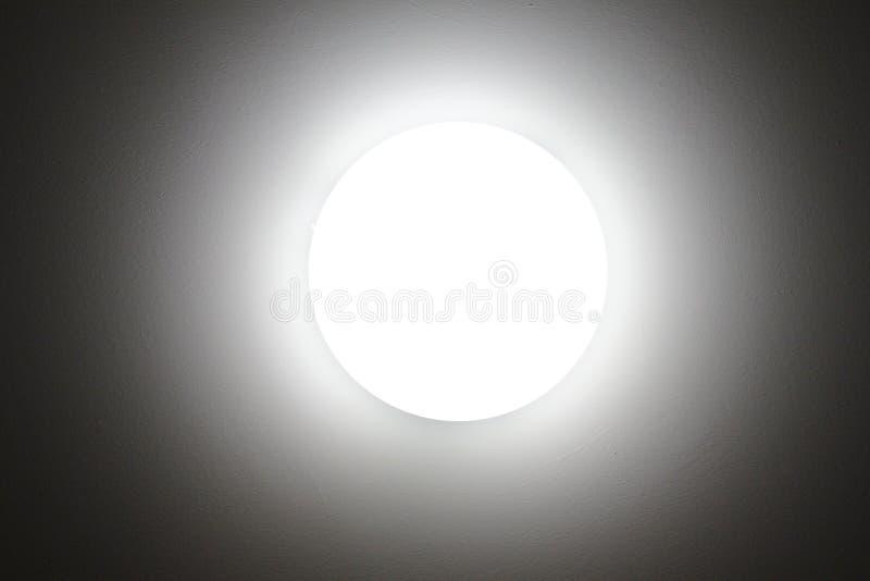 Луна и слепимость, светлое полнолуние стоковое фото