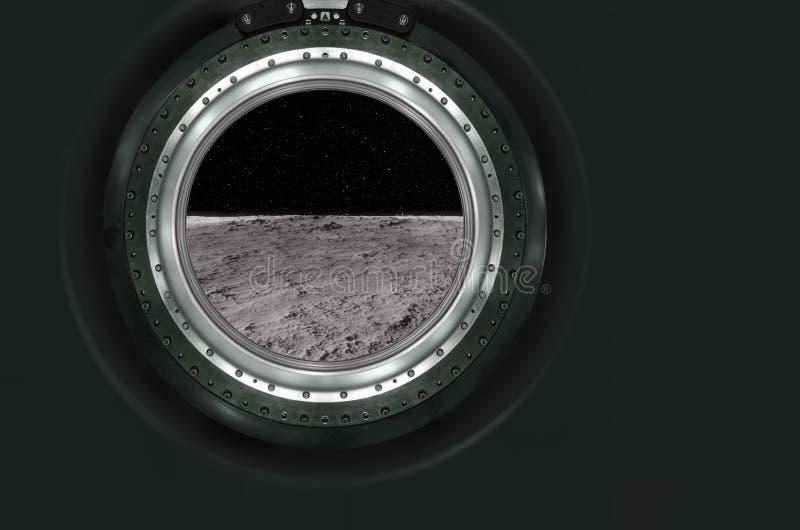 Луна, Марс ландшафта планеты чужеземца стоковые изображения rf