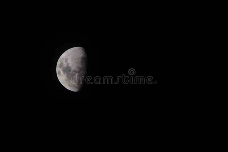 Луна прочь стоковая фотография