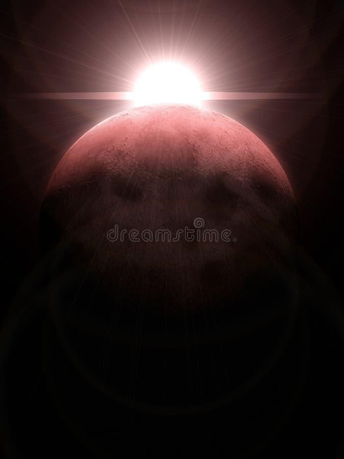 луна 3d бесплатная иллюстрация