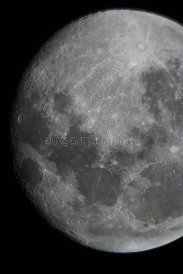 Download луна стоковое фото. изображение насчитывающей вполне, сияние - 477222