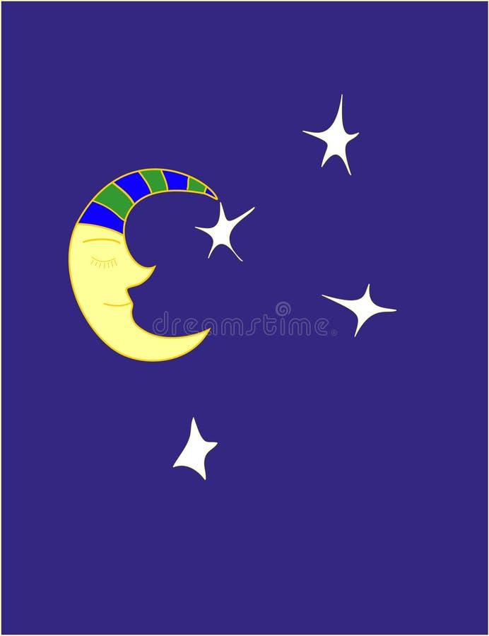 луна иллюстрация вектора