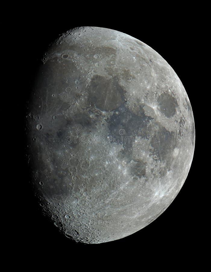 луна 9 дней старая стоковые фотографии rf
