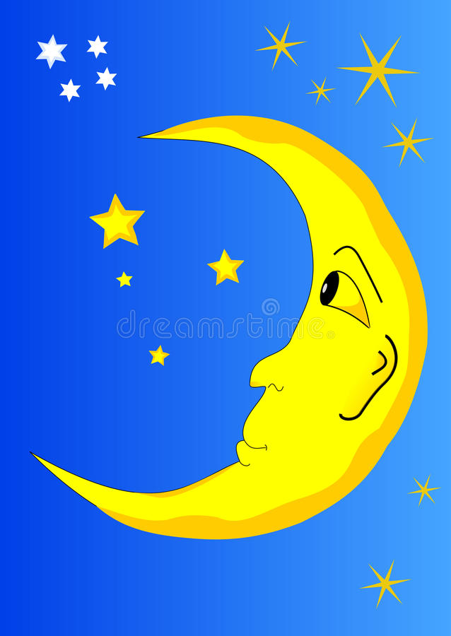 луна бесплатная иллюстрация