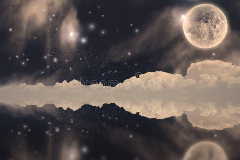 Луна Fanastic иллюстрация штока