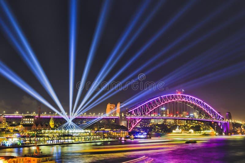 Лучей стержня моста Sy яркие 17 стоковое фото rf