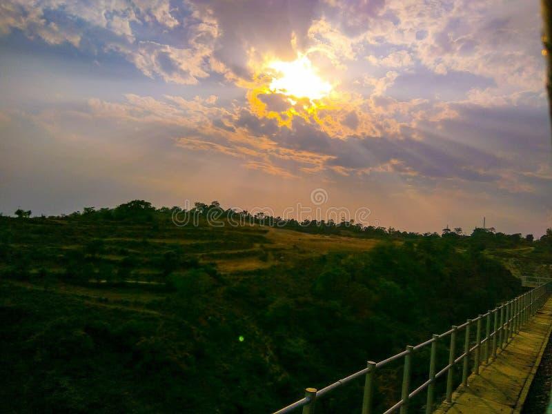Лучи Солнця стоковое фото rf