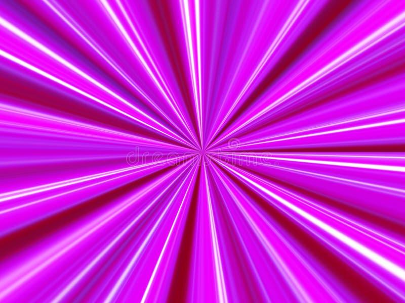 луч предпосылки розовый иллюстрация штока