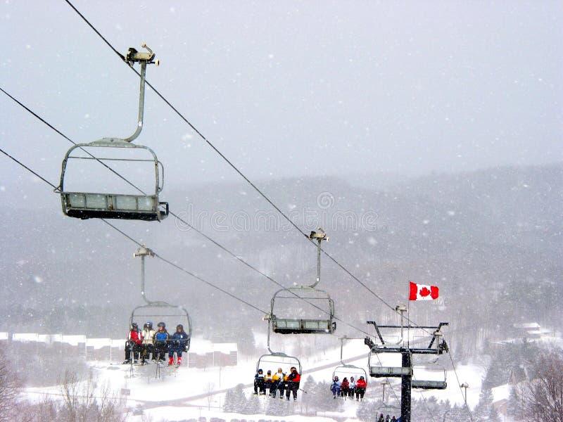 лыжа Канады стоковое изображение rf
