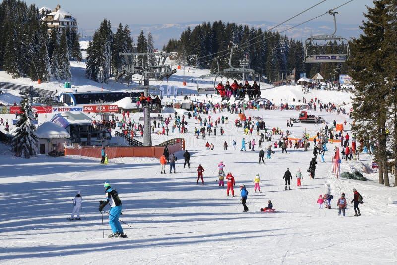 Лыжный курорт Kopaonik, Сербия стоковые изображения rf