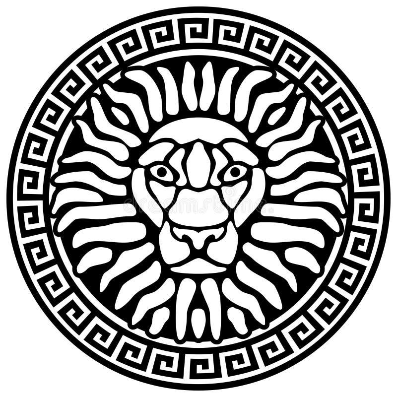 львев извивается портрет иллюстрация штока