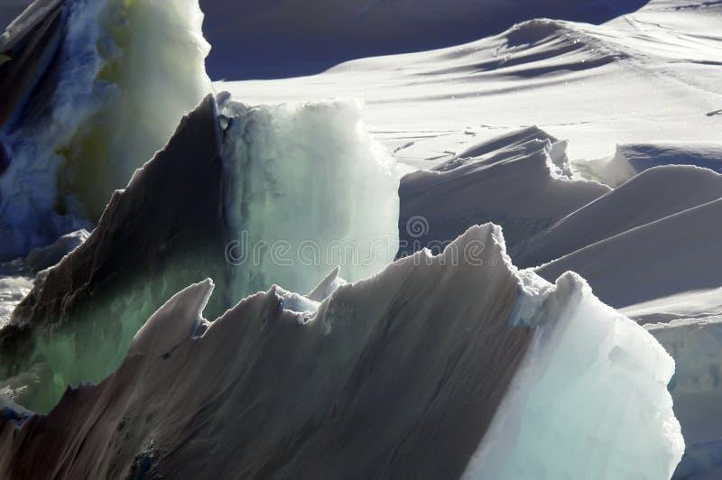 льдед грубый стоковые изображения rf