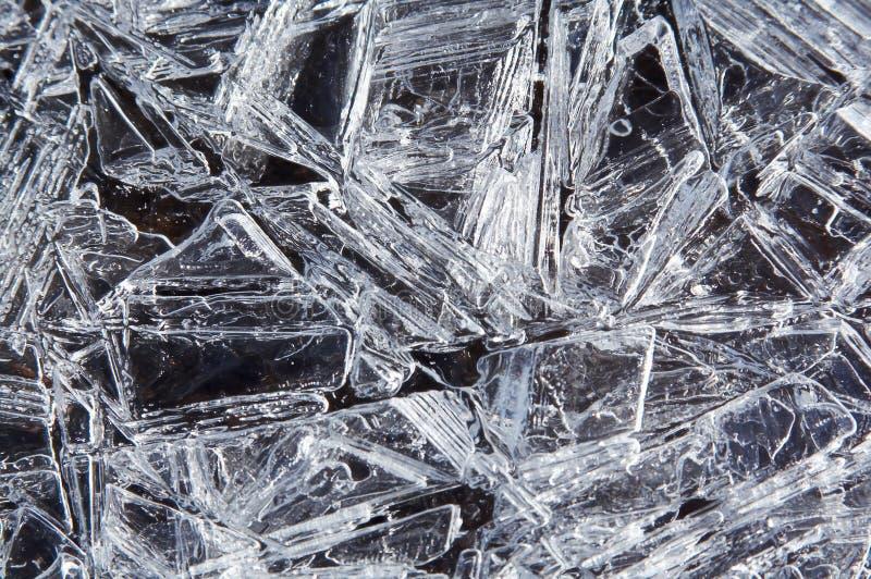 льдед кристаллов предпосылки стоковые изображения