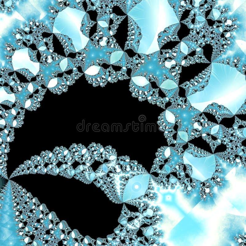 льдед кристаллов иллюстрация штока