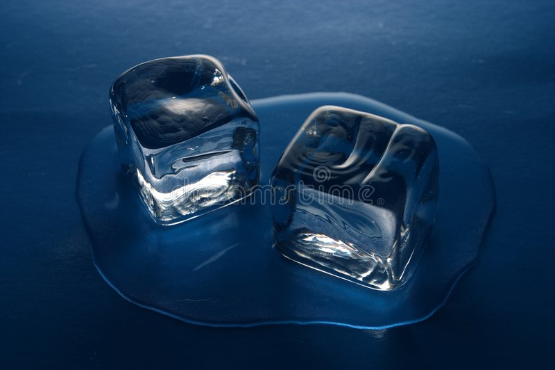 льдед кубиков стоковые изображения rf