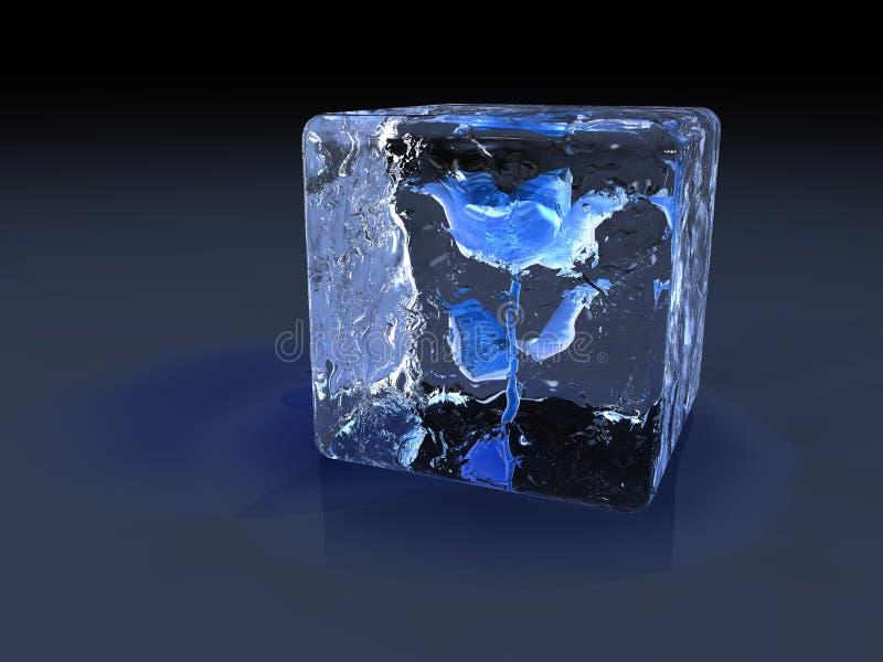 льдед поднял иллюстрация вектора