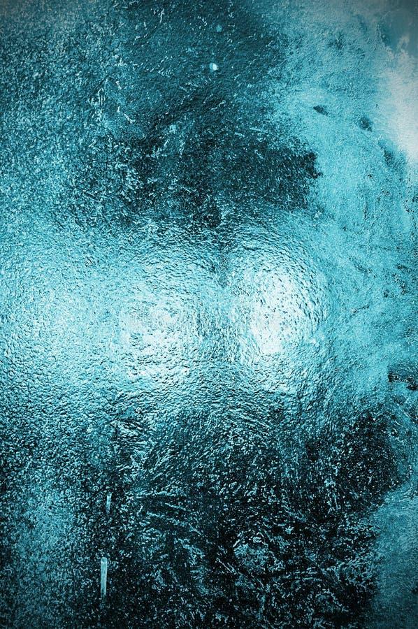 льдед покрытого стекла стоковое изображение rf