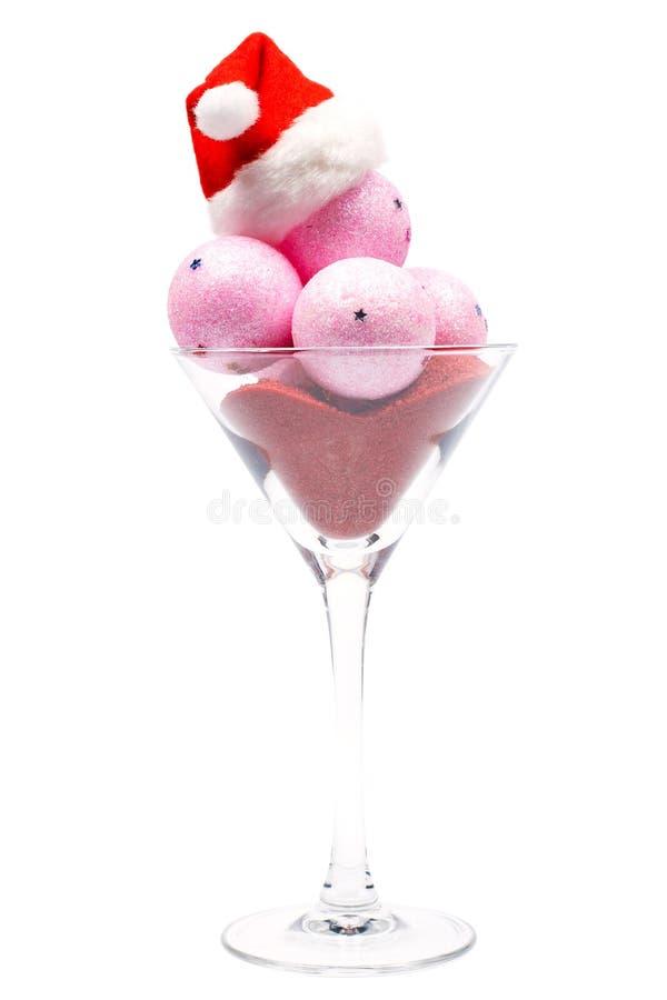 льдед рождества cream стоковое изображение