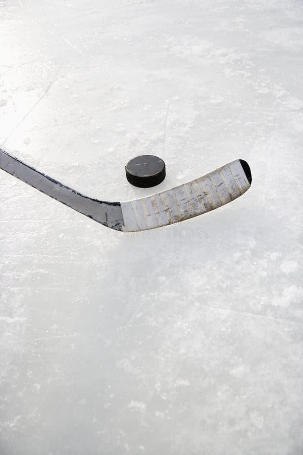 льдед хоккея стоковое изображение