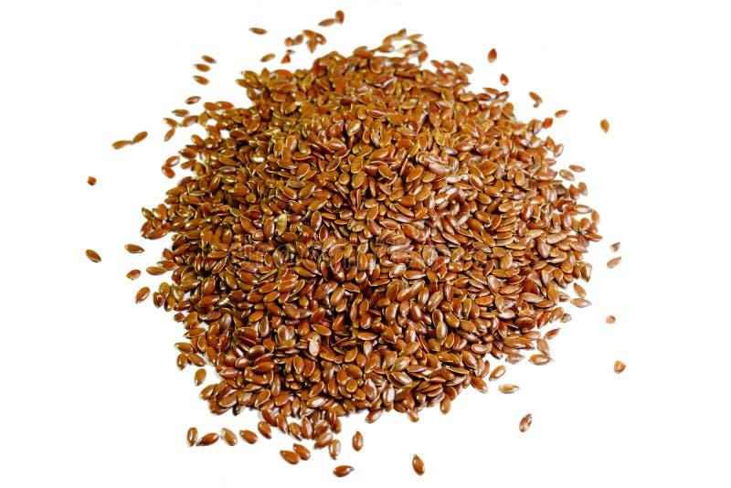 Льняное семя или flaxseed стоковая фотография