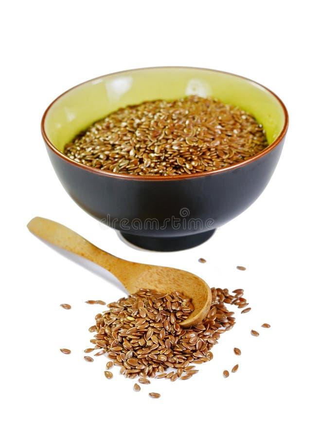 Льняные семена стоковые изображения