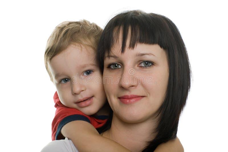 любимо ее сынок мати Стоковые Изображения