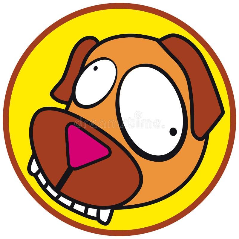 любимчики иконы собаки иллюстрация вектора