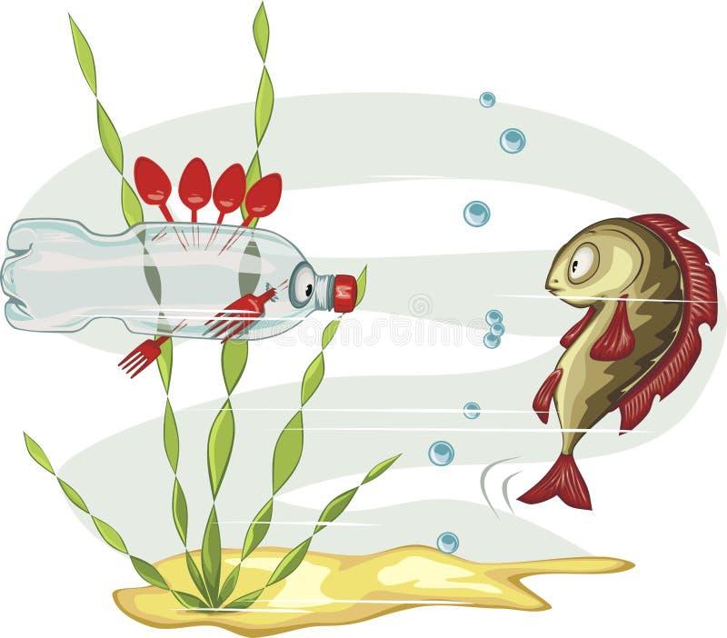 Любимчик-рыбы иллюстрация штока