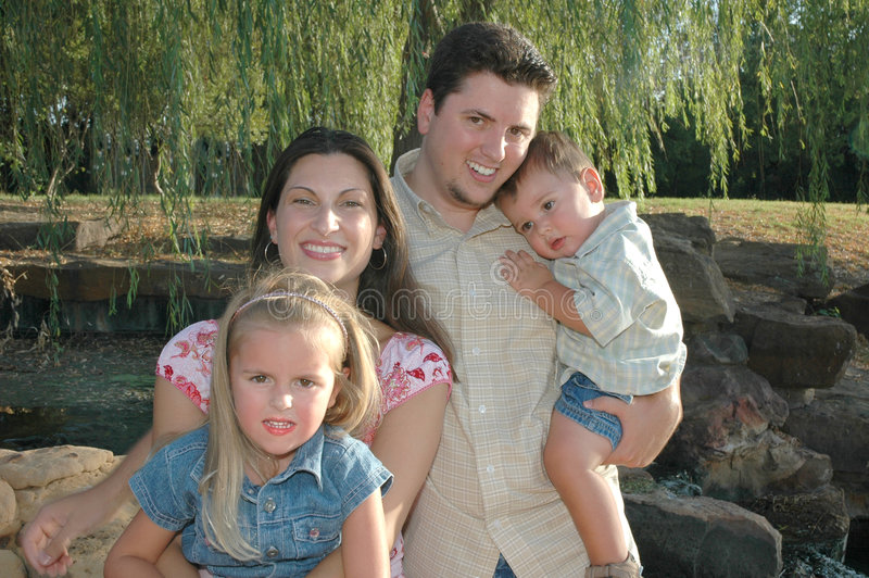 любить семьи стоковое фото rf