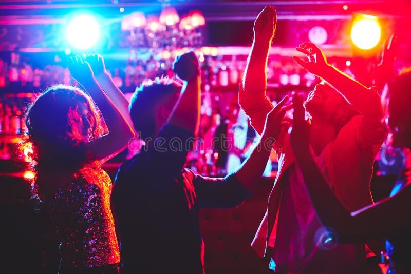 Любовники танца стоковые изображения