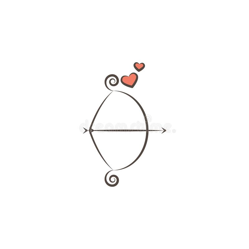 любовник оборудует значок Элемент профессий оборудует значок для передвижных apps концепции и сети Значок инструментов любовника  иллюстрация штока