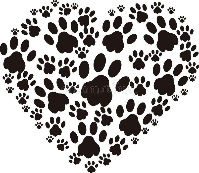 Любовник собаки иллюстрация вектора