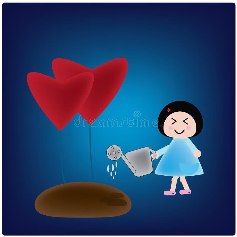 Любовь бесплатная иллюстрация