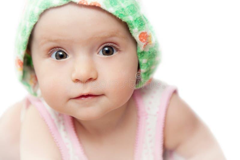 Любознательний младенец Стоковое Изображение