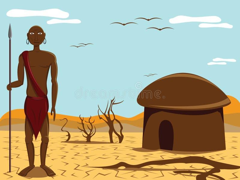 люди Африки бесплатная иллюстрация