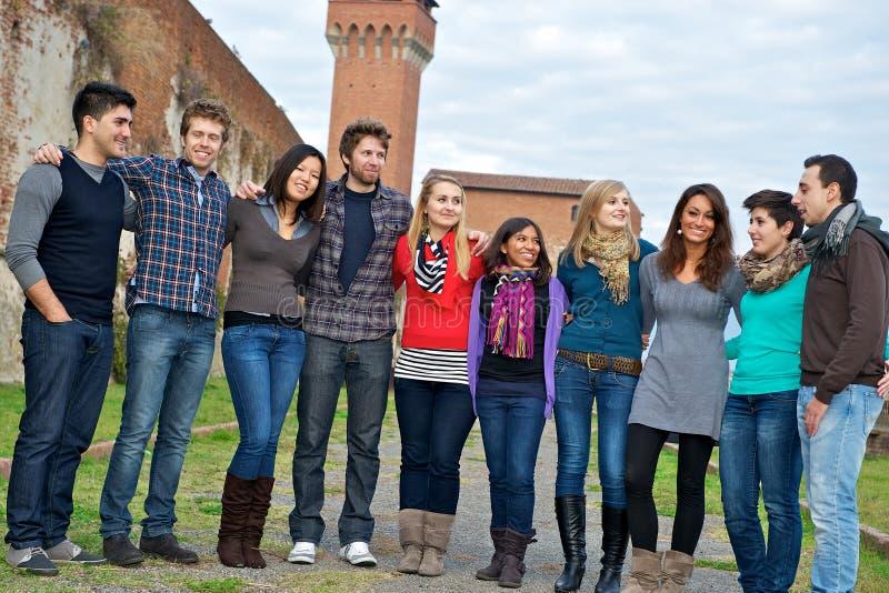 люди группы многокультурные стоковая фотография rf