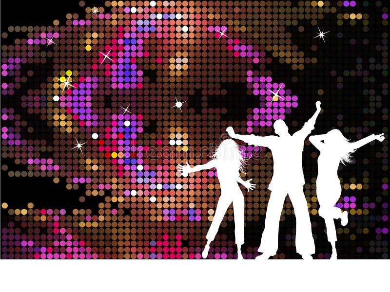 люди диско бесплатная иллюстрация