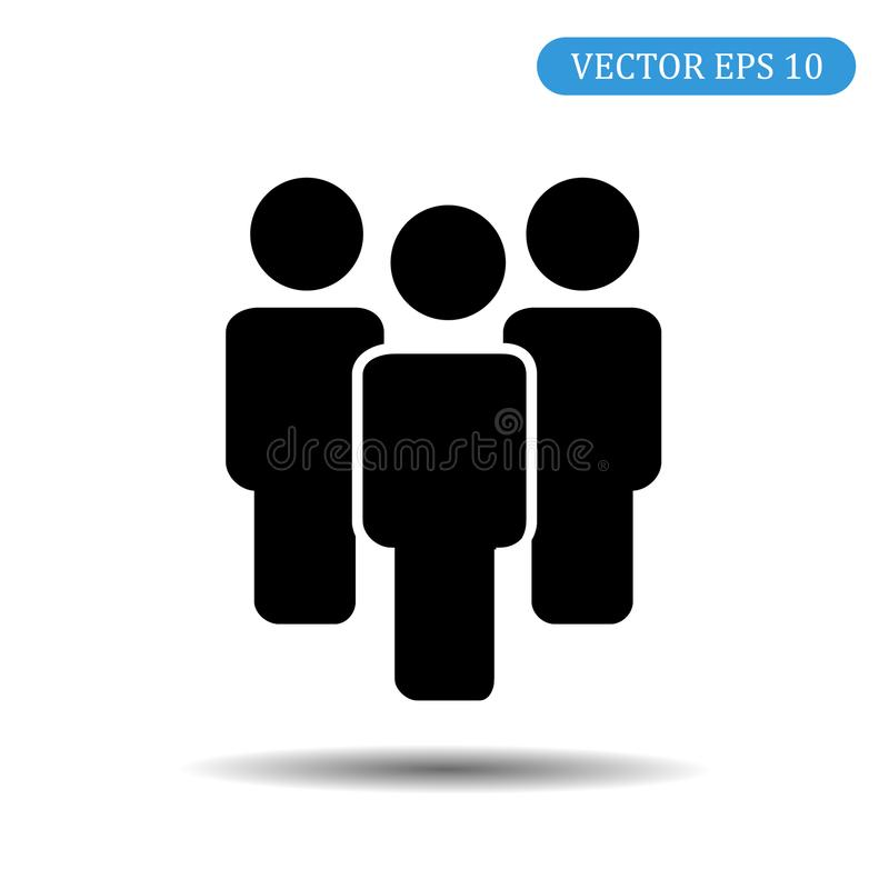 люди иконы группы вектор экрана иллюстрации 10 eps стоковое фото rf