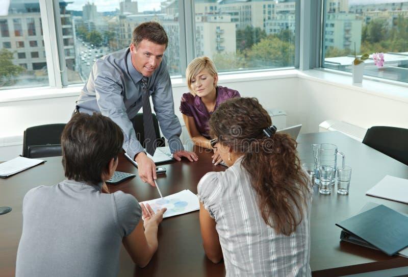 люди офиса деловой встречи стоковые фотографии rf