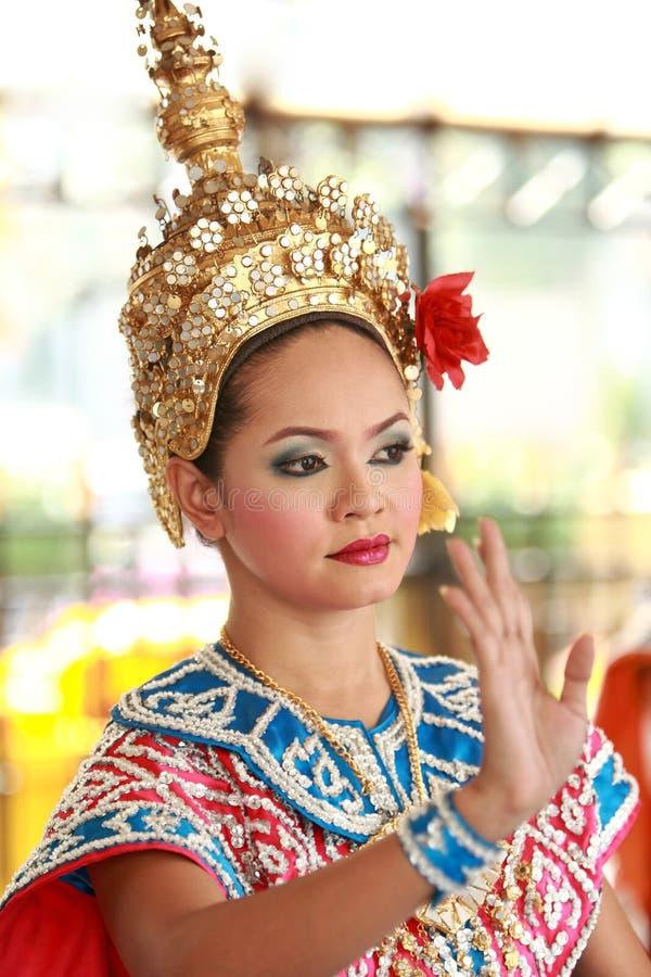 люди Таиланд танцы bangkok стоковое фото