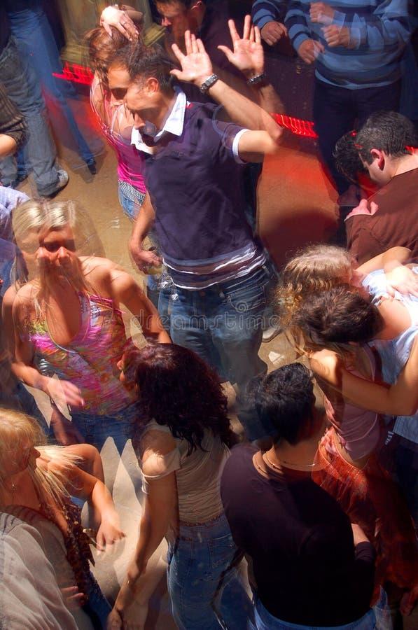 люди танцы стоковая фотография rf